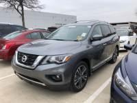 Certified 2017 Nissan Pathfinder Platinum SUV For Sale in Frisco TX