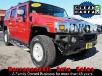 2003 HUMMER H2 4X4 V-8 Auto Fully Loaded Leather NAV DVD Moonroof