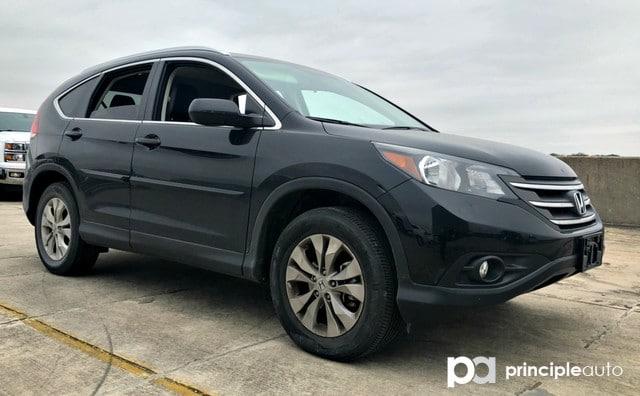Photo Used 2014 Honda CR-V EX-L, Leather Seats, Power Seats, Heated Seats, Su SUV For Sale San Antonio, TX