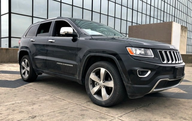 Photo Used 2014 Jeep Grand Cherokee Limited, Leather Seats, Power Seats, Sunroof, Navi SUV For Sale San Antonio, TX