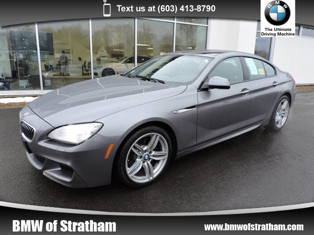 Photo 2015 BMW 6 Series 640i xDrive M SPORT COLD WEATHER NAVIGATION Gran Coupe All-wheel Drive