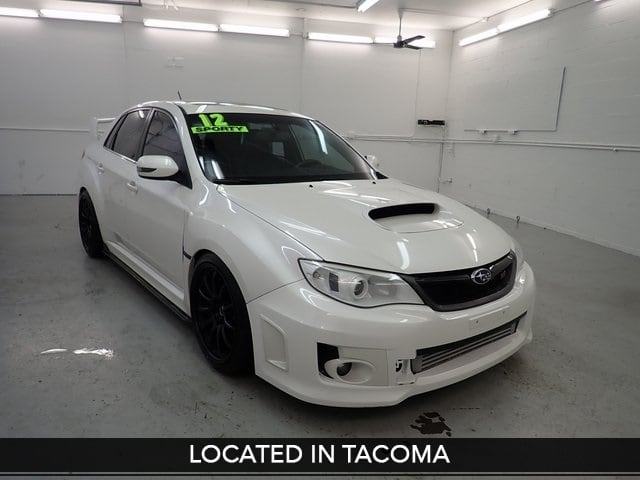 Photo Used 2012 Subaru Impreza WRX STi for Sale in Tacoma, near Auburn WA