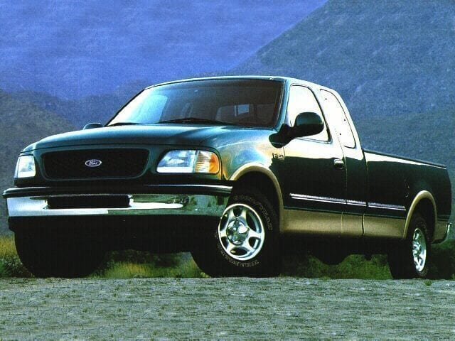 Photo 1997 Ford F-150 XLT Supercab Flareside 139 Truck Extended Cab in Montgomery