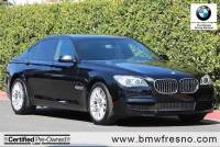 Certified Used 2015 BMW 7 Series 4dr Sdn 740i RWD Car in Fresno, CA