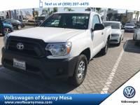 2013 Toyota Tacoma Pickup Truck Rear Wheel Drive