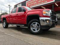 2015 GMC Sierra 2500HD SLE CREW CAB SHORT BED 4WD LEVELED