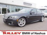 2015 Certified Used BMW 5 Series Car 4dr Sdn 550i Xdrive AWD Dark Graphite For Sale Manchester NH & Nashua | Stock:B18337A