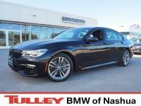 2017 Certified Used BMW 7 Series Car 750i Xdrive Sedan Black Sapphire For Sale Manchester NH & Nashua | Stock:B18559A