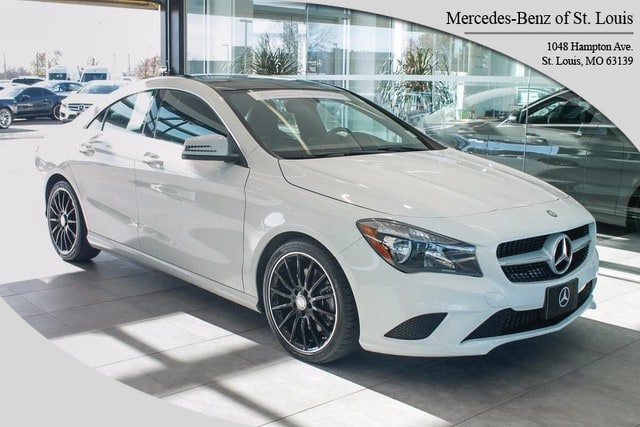 Photo Certified Pre-Owned 2014 Mercedes-Benz CLA-Class CLA 250 Sedan For Sale St. Louis, MO