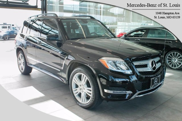 Photo Certified Pre-Owned 2014 Mercedes-Benz GLK-Class GLK 350 SUV For Sale St. Louis, MO