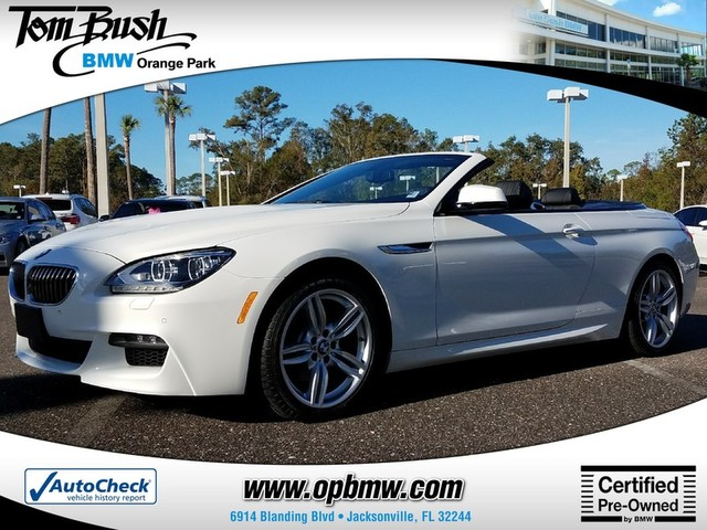 Photo 2015 BMW 6 Series 640i Xdrive Convertible in Jacksonville