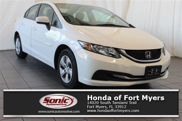 Photo 2015 Honda Civic LX 4dr CVT in Fort Myers