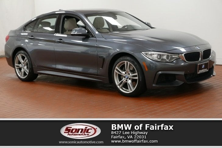Photo Certified Used 2015 BMW 4 Series Coupe in Fairfax, VA
