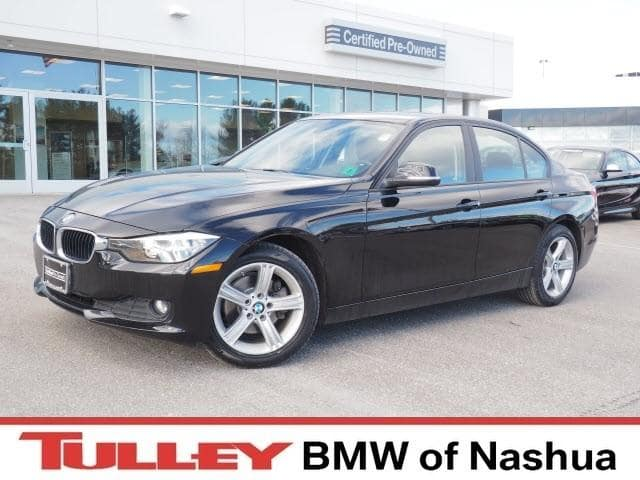 Photo 2015 Certified Used BMW 3 Series Car 4dr Sdn 320i Xdrive AWD Jet Black For Sale Manchester NH  Nashua  StockB18316A
