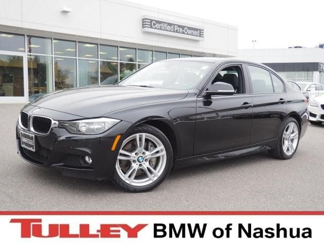 Photo 2015 Certified Used BMW 3 Series Car 4dr Sdn 328i Xdrive AWD Black Sapphire For Sale Manchester NH  Nashua  StockB18150A