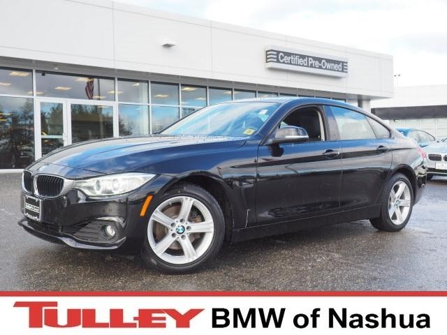 Photo 2015 Certified Used BMW 4 Series Car 4dr Sdn 428i Xdrive AWD Gran Coupe Jet Black For Sale Manchester NH  Nashua  StockB18626A