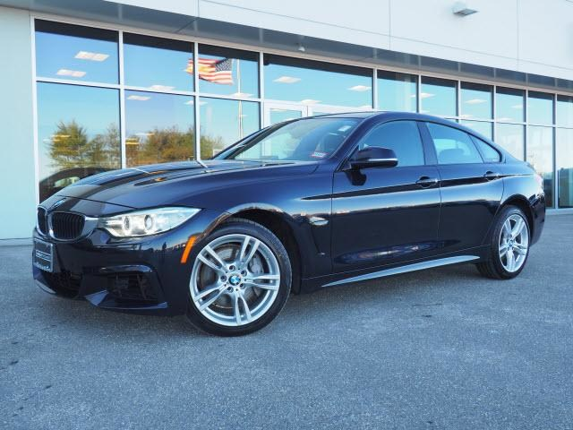 Photo 2015 Certified Used BMW 4 Series Car 4dr Sdn 435i Xdrive AWD Gran Coupe Carbon Black For Sale Manchester NH  Nashua  StockB18432A
