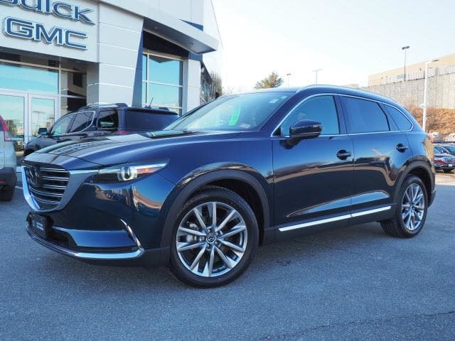 Photo 2017 Certified Used Mazda CX-9 Sport Utility Grand Touring AWD Deep Crystal Blue Mica For Sale Manchester NH  Nashua  StockMT17040L