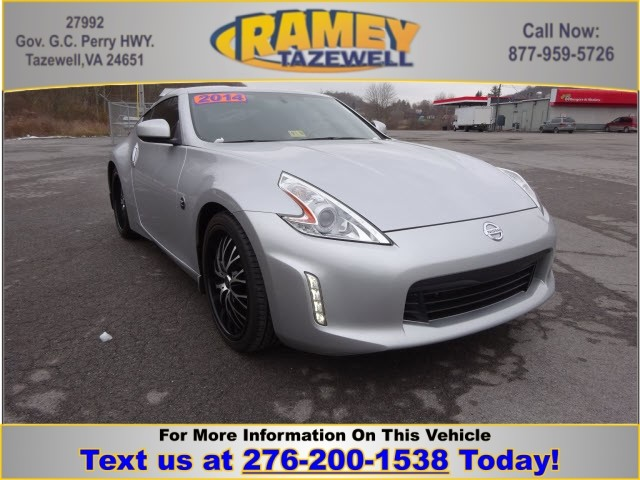 Photo 2014 Nissan 370Z Base Coupe in North Tazewell, VA