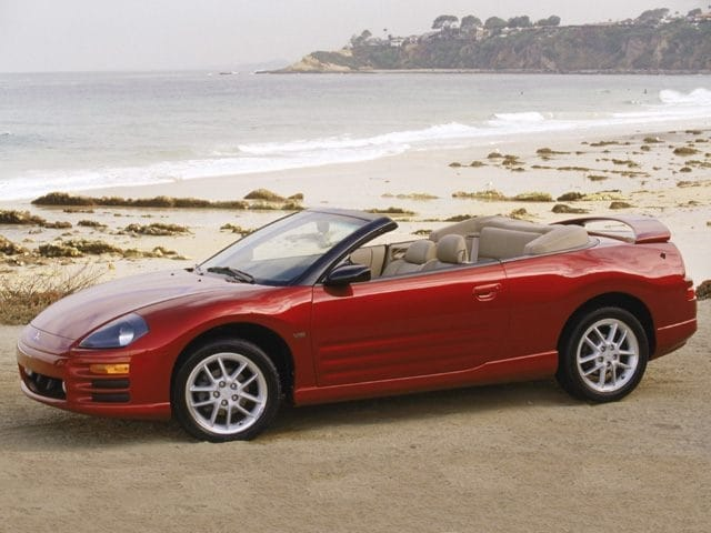 Photo Used 2002 Mitsubishi Eclipse Spyder GS Convertible