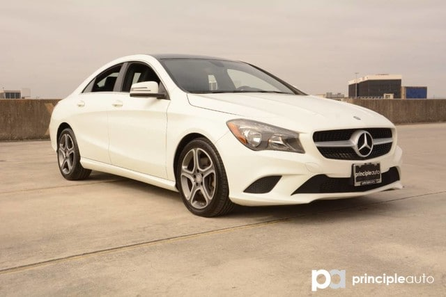 Photo Used 2014 Mercedes-Benz CLA CLA 250, Sunroof, Power Seats, Navigation. Coupe For Sale San Antonio, TX
