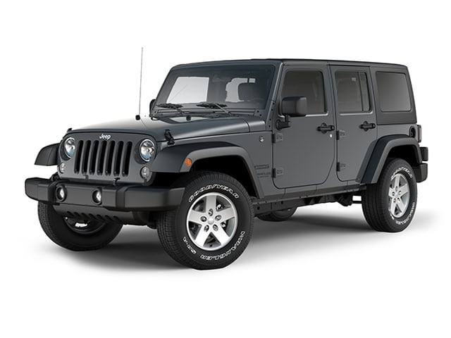 Photo Used 2017 Jeep Wrangler Unlimited Sport Sport 4x4 For Sale in New London  Near Norwich, CT