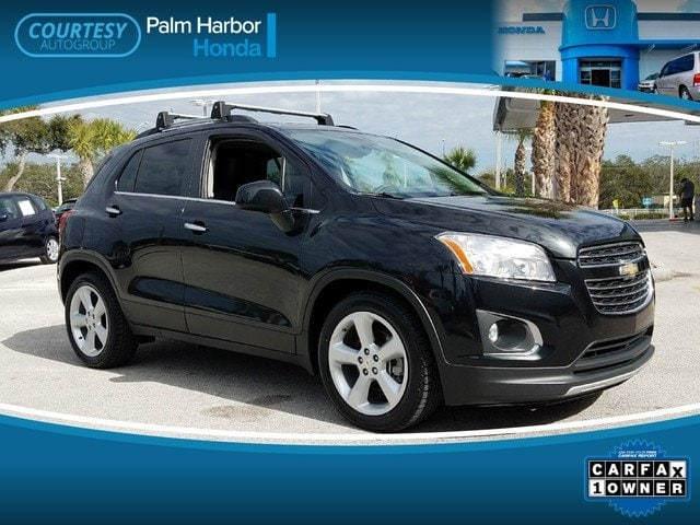 Photo Pre-Owned 2015 Chevrolet Trax LTZ SUV in Tampa FL