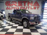 2005 Ford F-250 SD LARIAT DIESEL CREW CAB 4X4 HEATED LEATHER 141K!