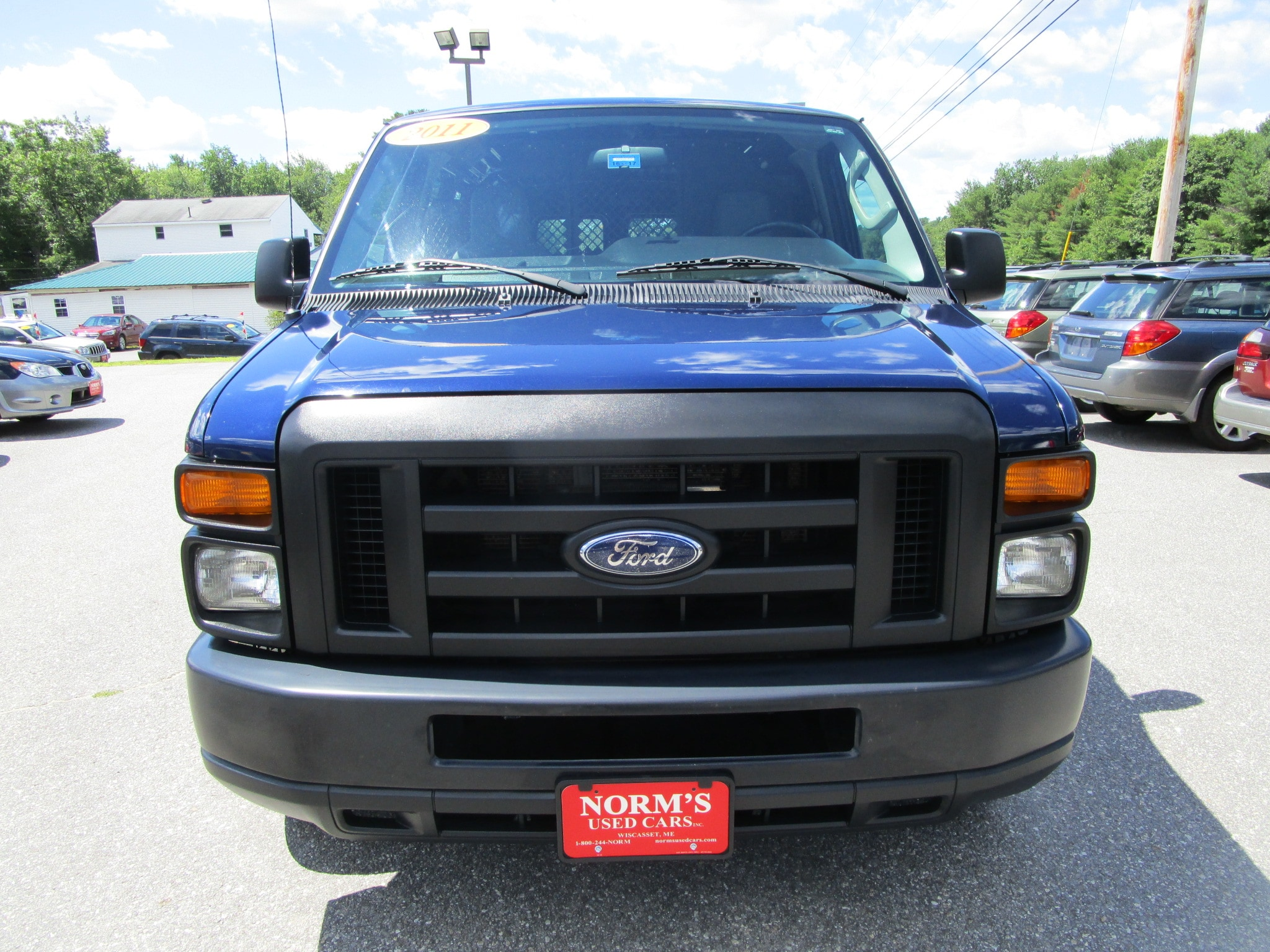 Photo Used 2011 Ford E-150 For Sale  Wiscasset ME