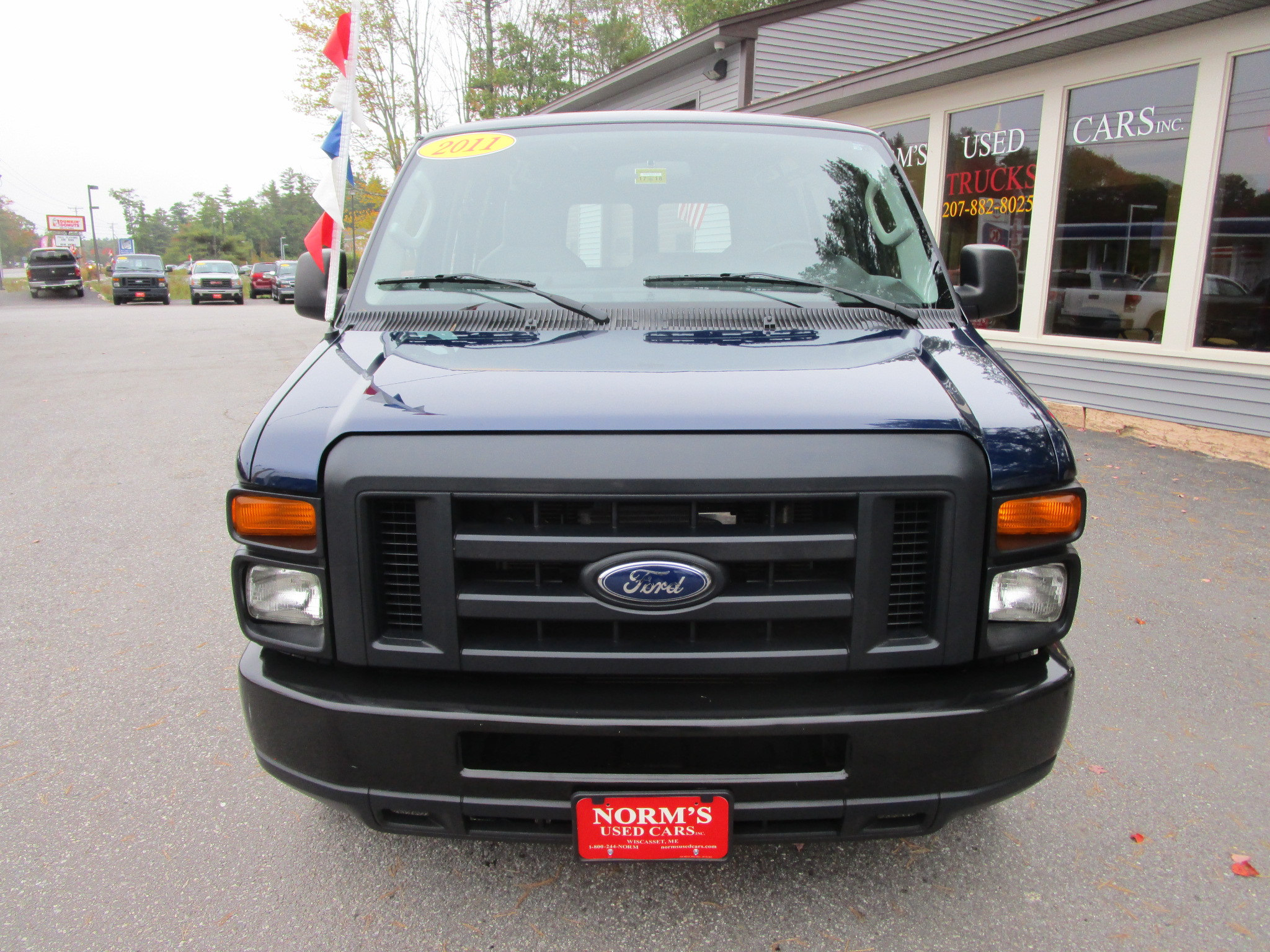 Photo Used 2011 Ford E-250 For Sale  Wiscasset ME