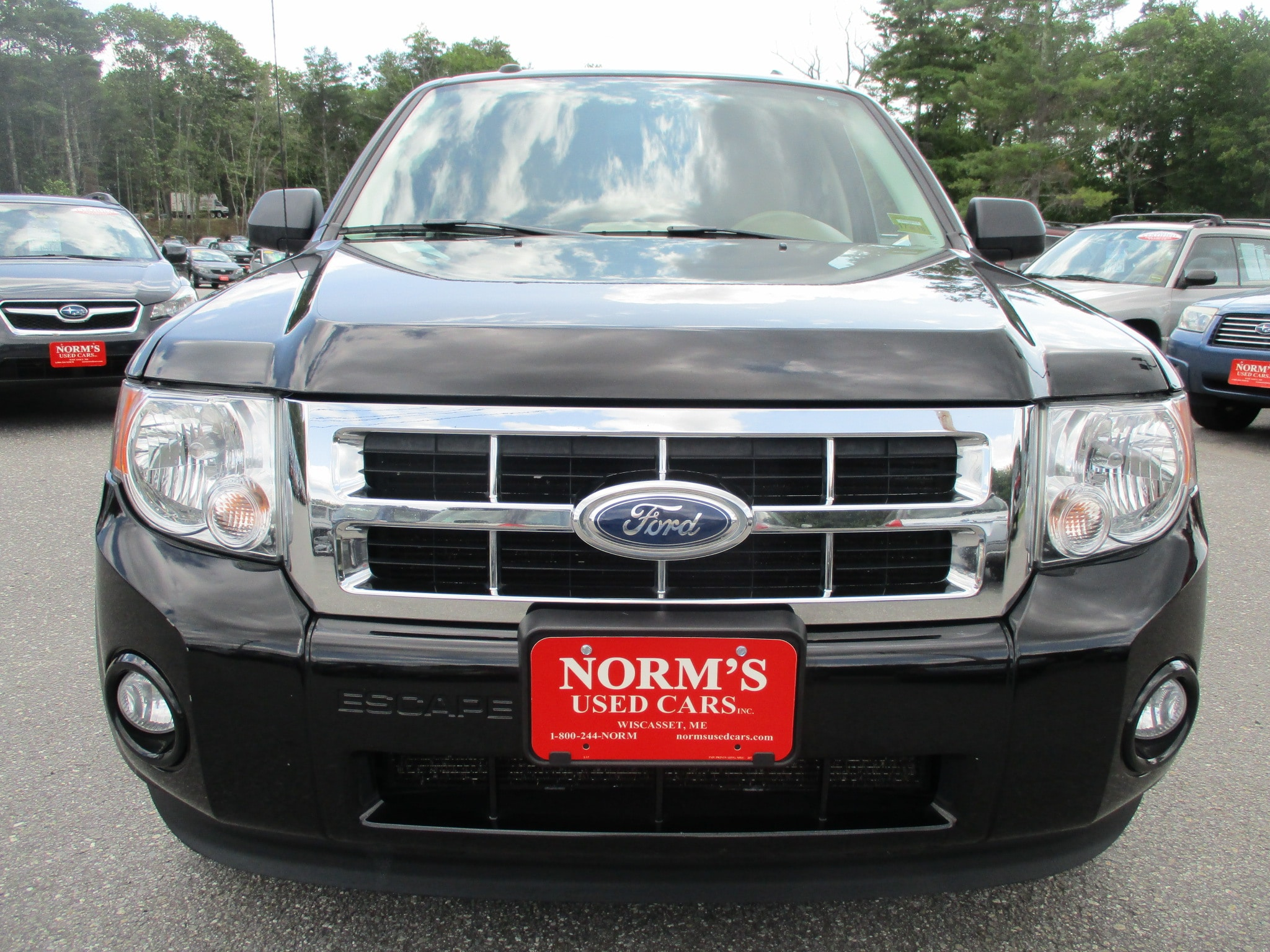 Photo Used 2012 Ford Escape For Sale  Wiscasset ME