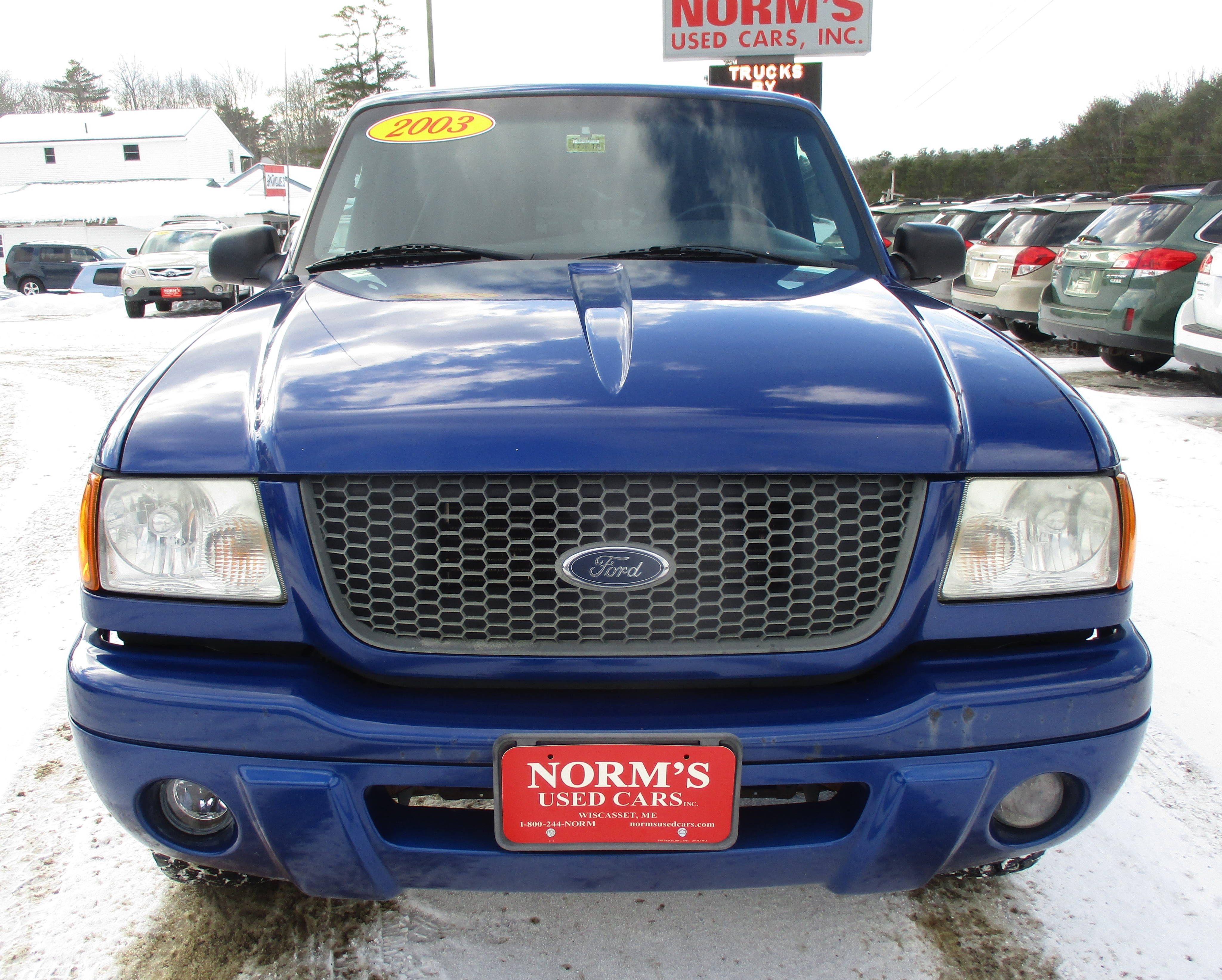 Photo Used 2003 Ford Ranger For Sale  Wiscasset ME