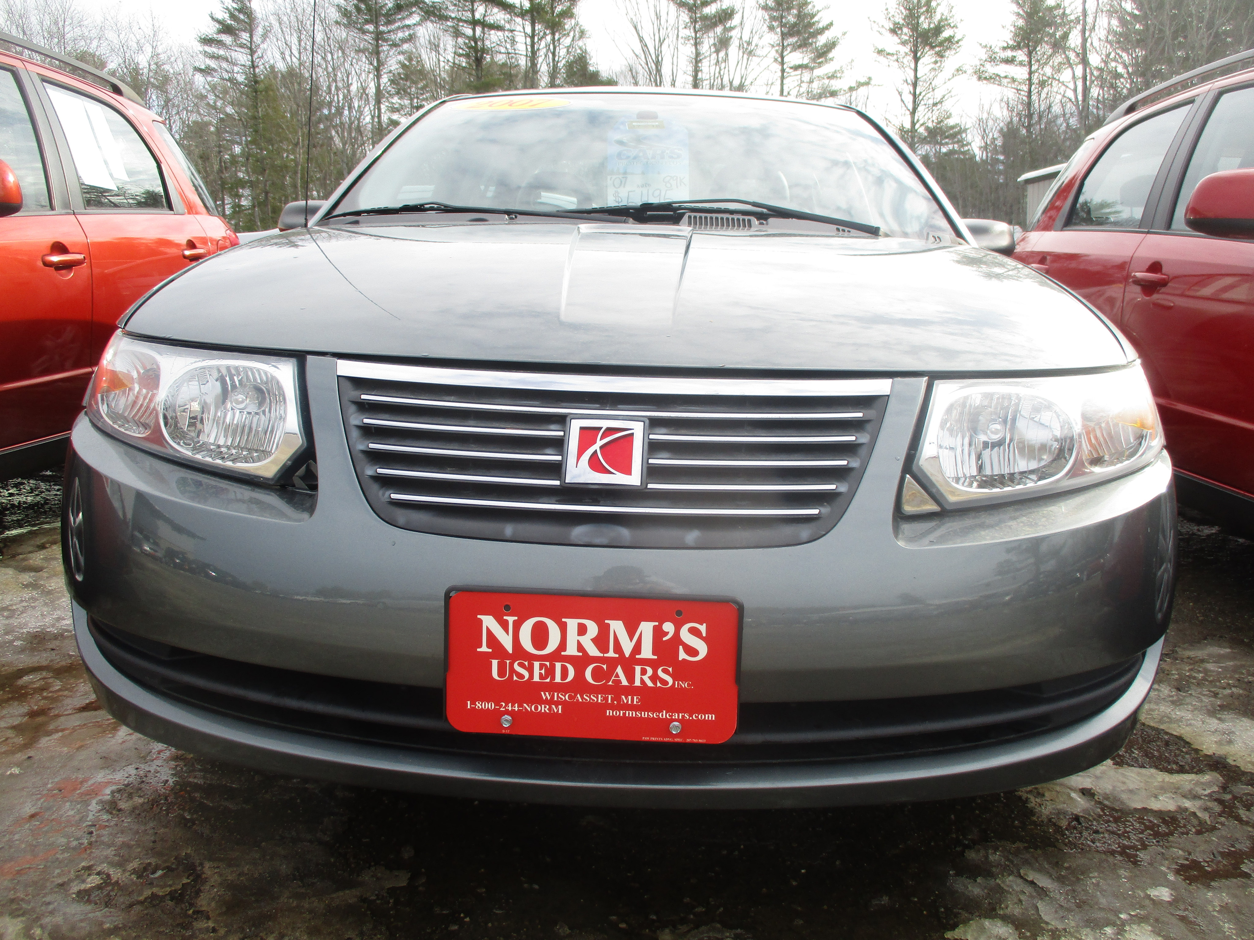 Photo Used 2007 Saturn ION For Sale  Wiscasset ME