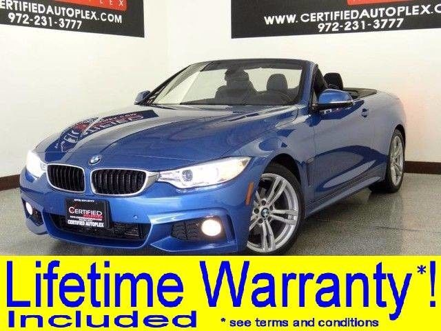 Photo 2014 BMW 428i CONVERTIBLE M SPORT PKG HEADS UP DISPLAY NAVIGATION LEATHER HEATED SEATS REAR CAMERA