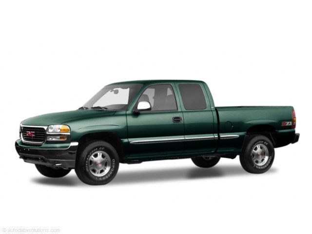 Photo 2001 GMC Sierra 1500 Ext Cab 143.5 WB 4WD SLE Extended Cab Pickup