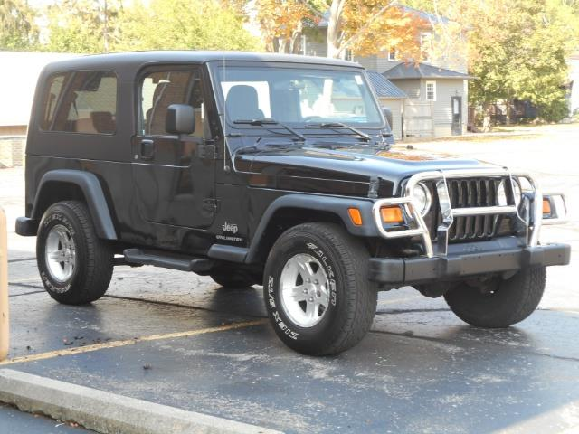 Photo 2004 Jeep Wrangler Unlimited 4X4 Hard Top Automatic for sale in Flushing MI