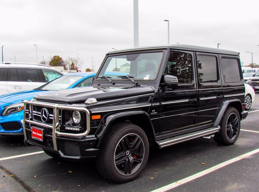 Photo Pre-Owned 2017 Mercedes-Benz G-Class AMG G 63 SUV