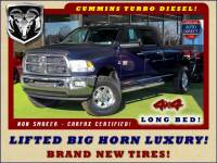 2012 Ram 2500 Big Horn Luxury Crew Cab Long Bed 4x4 - LIFTED!