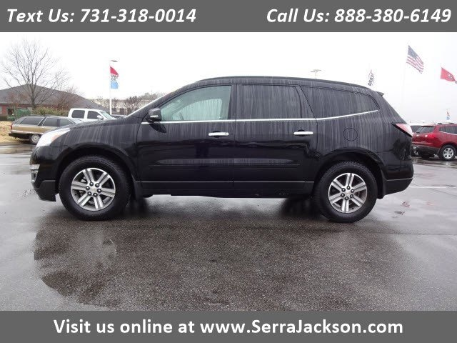 Photo Certified Pre-Owned 2017 Chevrolet Traverse LT in Jackson, TN