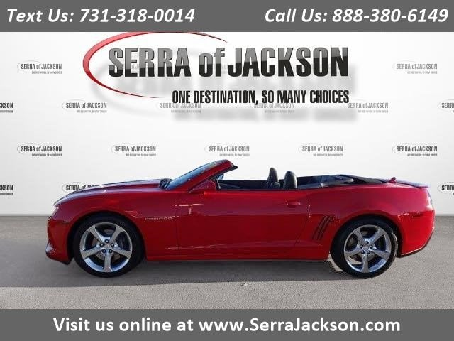 Photo Certified Pre-Owned 2015 Chevrolet Camaro SS in Jackson, TN