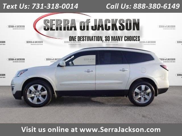 Photo Certified Pre-Owned 2014 Chevrolet Traverse LTZ in Jackson, TN