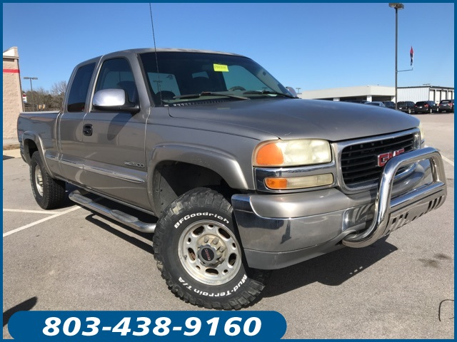 Photo Pre-Owned 2000 GMC Sierra 2500 SLE EXT CAB 4WD