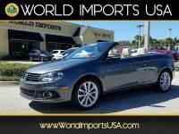 2014 Volkswagen EOS Komfort Hardtop Convertible for sale in Jacksonville, FL