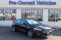 Pre-Owned 2014 Ford Fusion Titanium* ONE OWNER Front Wheel Drive Sedan