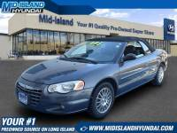 Pre-Owned 2005 Chrysler Sebring Conv Touring Front Wheel Drive Coupe
