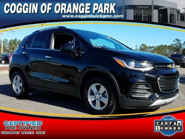 Photo Certified 2018 Chevrolet Trax LT SUV in Jacksonville FL