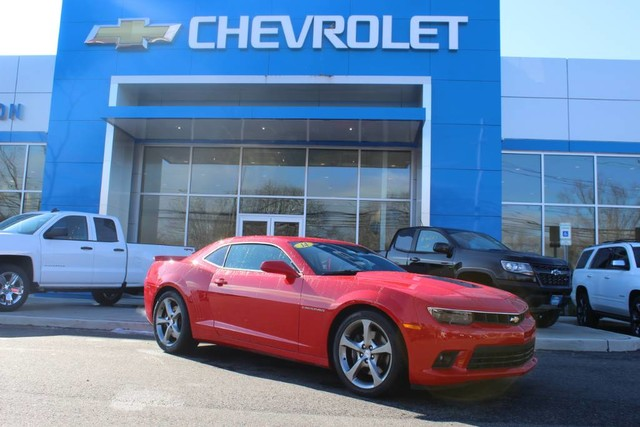 Photo Pre-Owned 2014 Chevrolet Camaro 2SS Leather Navi Red Hot Rear Wheel Drive Coupe