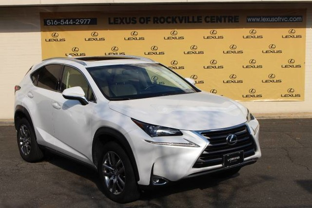 Photo Certified Pre-Owned 2015 Lexus NX 200t AWD LCertified Premium Package Navigation With Navigation