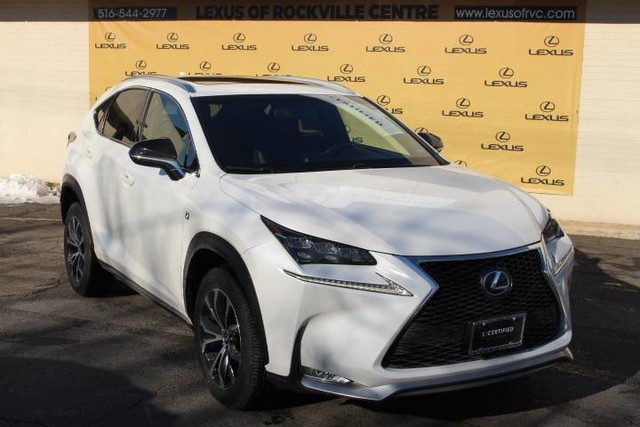 Photo Certified Pre-Owned 2015 Lexus NX 200t F Sport With Navigation