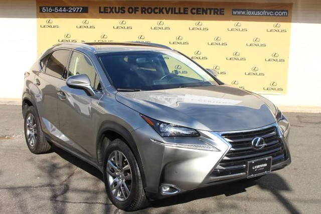 Photo Certified Pre-Owned 2016 Lexus NX 200t AWD LCertified Navigation With Navigation